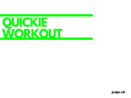 quickie-workout