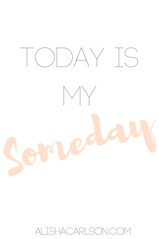 Today is my